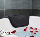 Mavrié spa badkussen anti slip zuignappen - zwart