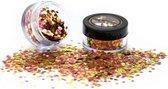 PaintGlow Chunky Glitters Bio Degradable Rose Gold