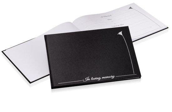 Condolence Book, Condoleanceregister, Condoleance Register, Condoleance Boek, Funeral Guest Book, In Loving Memory