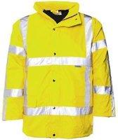 M-Wear parka 0985 Oxford nylon RWS fluo geel maat XL