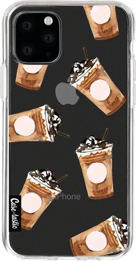 Apple iPhone 11 Pro hoesje Coffee To Go Casetastic Smartphone Hoesje softcover case