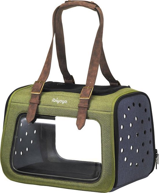 Ibiyaya - Portico Mixed-Fabric - Transporttas Bench Hond