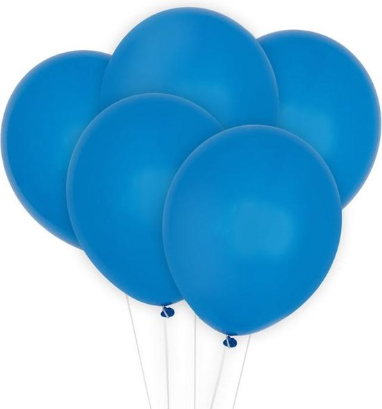 Ballonnen Donkerblauw (10st) Perfect Basics House Of Gia