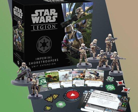 Afbeelding van het spel Star Wars Legion: Imperial Shoretroopers Unit Expansion