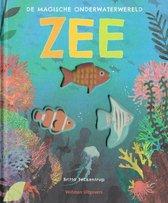 Boek cover Zee van Britta Teckentrup