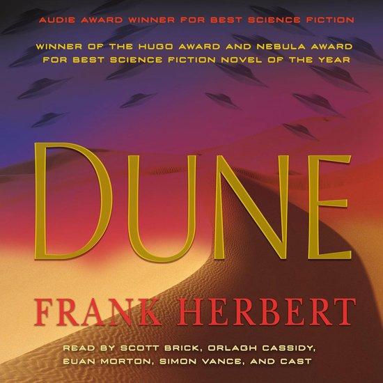 Boek cover Dune van Frank Herbert
