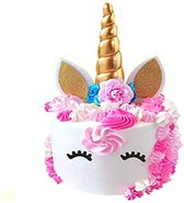 Vincitori Unicorn Cake Topper Eenhoorn Taart Versiering Set