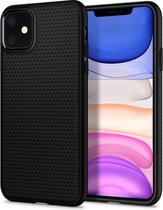 Spigen Liquid Air Matte Black- Voor  iPhone 11