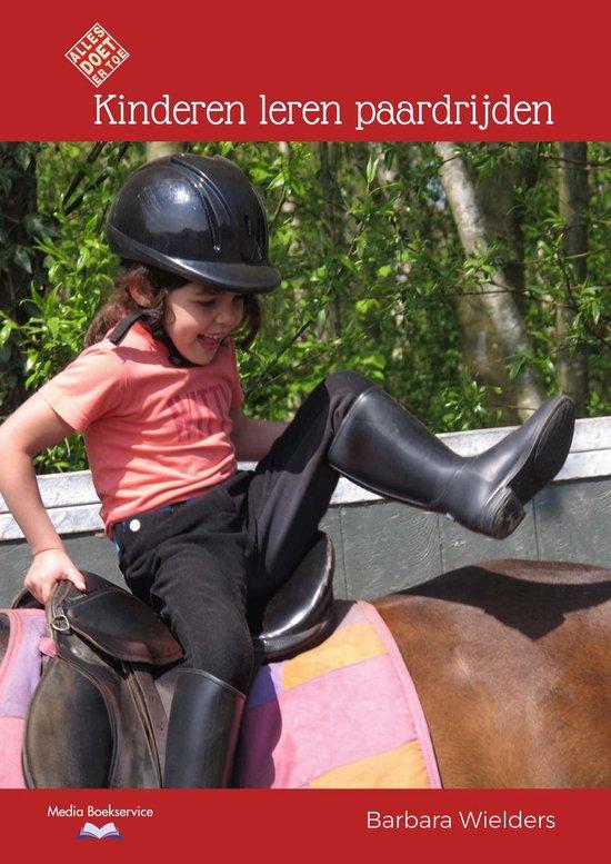 Kinderen leren paardrijden - Barbara Wielders |