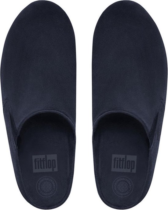 Fitflop™ Loaff™ Suede Clog Supernavy - Maat 40 YsD3Gc