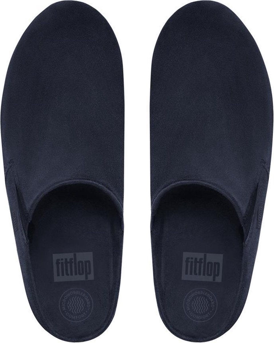 FitFlop™ Loaff™ Suede Clog Supernavy - Maat 40 Instappers
