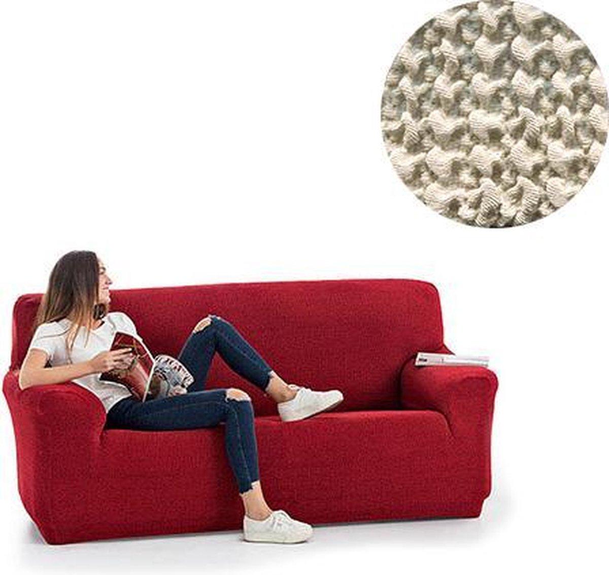 Milos meubelhoezen - Bankhoes 130-180cm - Ivoor - Verkrijgbaar in verschillende kleuren!