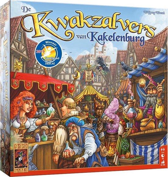 Afbeelding van het spel De Kwakzalvers van Kakelenburg Bordspel