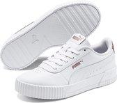 PUMA Carina RG Wn's Dames Sneakers - Puma White-Puma White-Rose Gold - Maat 37