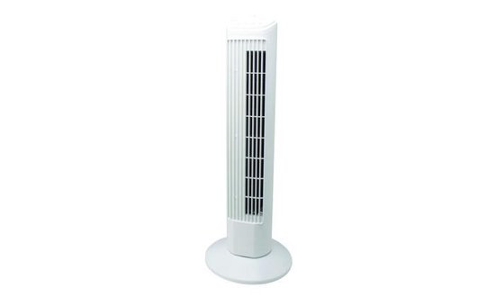 Torenventilator - Wit 74cm tower fan