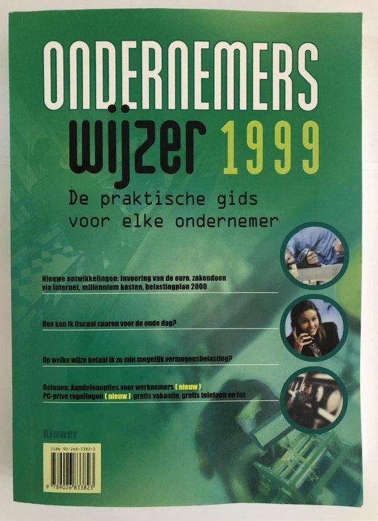 1999 Ondernemerswijzer - P.F. van Oosten de Boer |