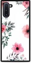 Galaxy Note 10 Hardcase hoesje Flowers