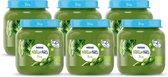 NaturNes® Bio Doperwten, Broccoli 4+ mnd babyvoeding biologisch - 6 potjes