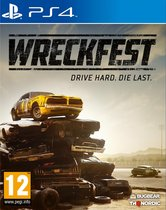 Cover van de game Wreckfest - PS4