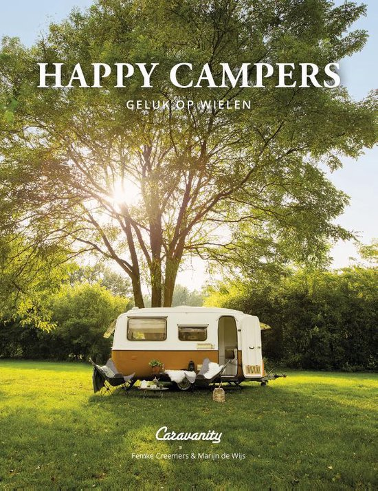 Boek cover Happy Campers van Femke Creemers (Hardcover)