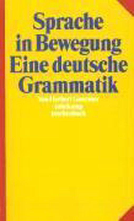 Boek cover Sprache in Bewegung van Herbert Genzmer (Onbekend)