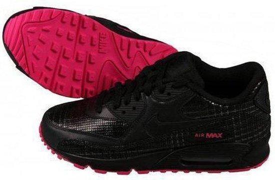 bol.com | Nike Air max 90 dames sneaker zwart roze maat 43