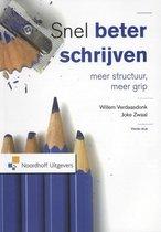Boek cover Snel beter schrijven van Willem Verdaasdonk (Paperback)
