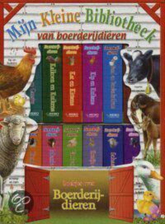 Cover van het boek 'Mijn Kleine Bibliotheek / Van boerderijdieren'