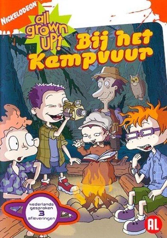 Cover van de film 'All Grown Up - Bij Het Kampvuur'