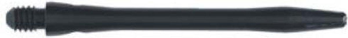 Darts-Shaft Alu Ano. Zwart Medium Winmau Per 10