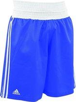 adidas Amateur Boxing Short Lightweight Blauw/Wit Medium