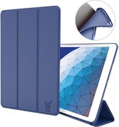 iPad Air 2019 Hoes - 10.5 inch - Smart Book Case Donkerblauw