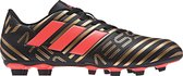 adidas Nemeziz Messi 17.4 FxG  Voetbalschoenen - Maat 39 1/3 - Mannen - zwart/goud/rood