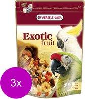 Versele-Laga Prestige Premium Exotic Fruit Papegaai - Vogelvoer - 3 x 600 g