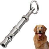 NBH® - RVS honden fluitje met aanpasbare frequenties