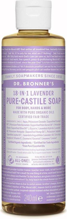 Dr.Bronner's 18-IN-1 Vloeibare zeep 240 ml 1 stuk(s)
