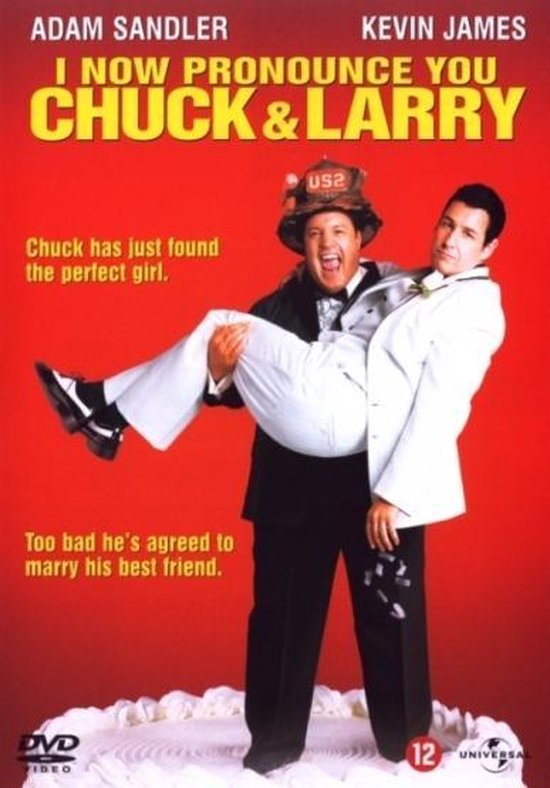 Cover van de film 'I Now Pronounce You Chuck & Larry'
