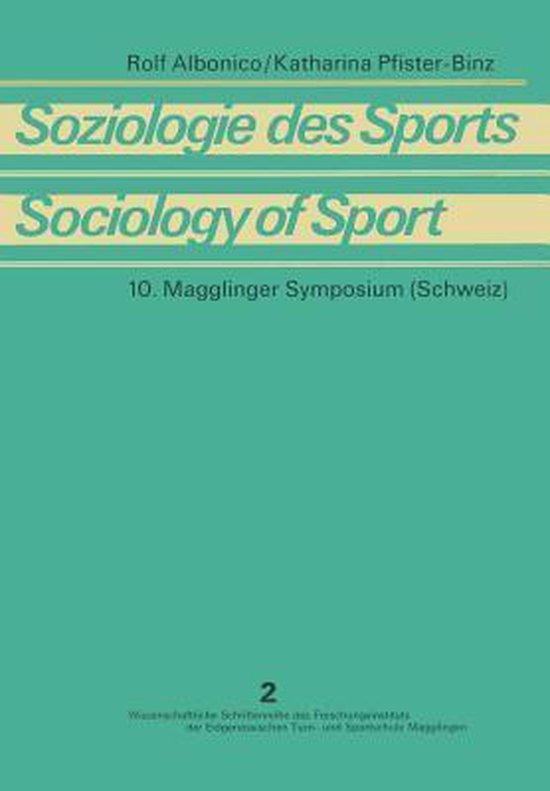 Soziologie Des Sports / Sociology of Sport