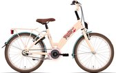 Kinderfiets Bike Fun Candyshop meisjes 20 inch remnaaf