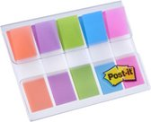 POST-IT Index - 5 kleuren - 11,9 x 43,2 mm - 100 tabs