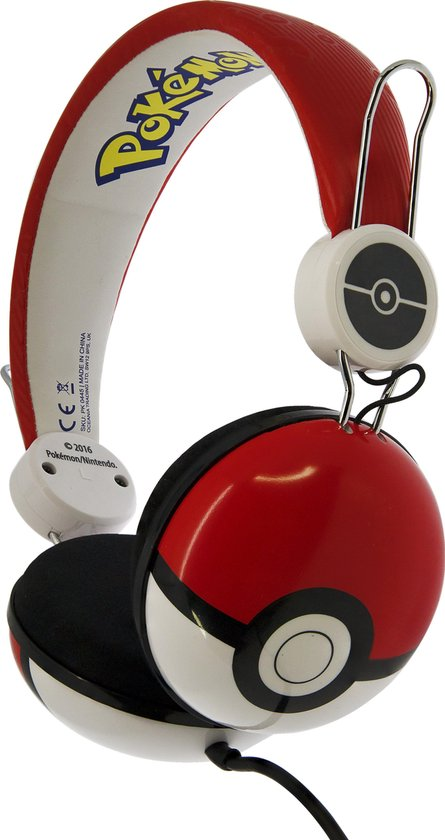 Pokemon PokéBall Koptelefoon voor kinderen