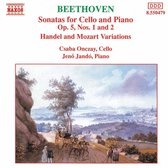 Beethoven: Cello Sonatas 1&2