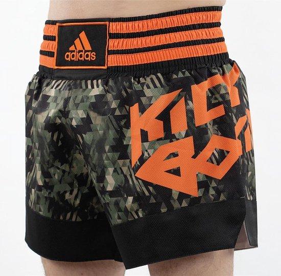 adidas Kickboksshort Camouflage Large