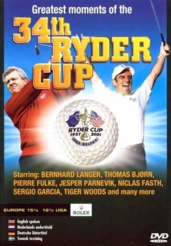 Cover van de film '34th Ryder Cup'