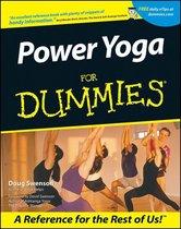 Omslag Power Yoga For Dummies