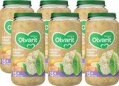 Olvarit 15 maanden Groentehapjes - bloemkool kalkoen aardappel - 6x250 gram