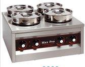 MaxPro foodwarmer - 4 pannen
