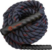 Tunturi Battle Rope - Fitness Rope - Crossfit Rope - Fitness touw - 12 meter