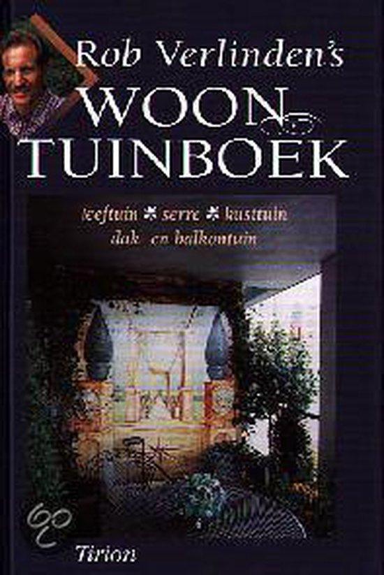 Cover van het boek 'Rob Verlinden's woontuinboek'