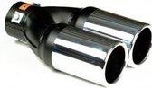 Uitlaatsierstuk Dubbel 756.4 - Passend 45-60mm